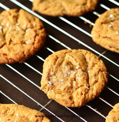Simple Peanut Butter Cookies...just 4 ingredients and gluten-free!