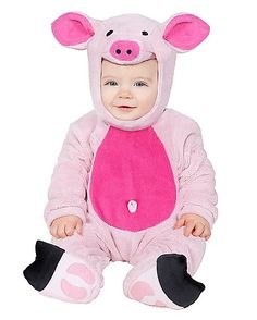 Lil Pink Pig Baby Costume - Spirithalloween.com