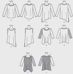 Marcy Tilton's Blog For Everyday Creatives: 10 Core Wardrobe Pieces Illustrated