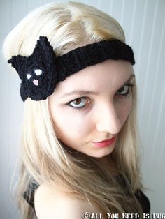 Catwoman Headband by jessicalynneart on Etsy, $14.50