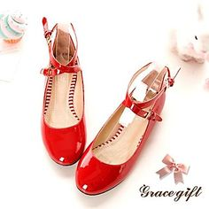 Faux Patent Leather Fashion Top Quality Women's Flats Best Choice for Dating/Party (More Colors) - USD $ 19.99