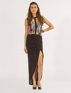 Gentle Fawn Black Lavish Maxi Now 25% off use promo code BOTTOMSUP at www.TwoSmitten.com