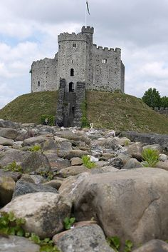 The Keep at Cardiff Castle, Cardiff, Wales, UK.I want to go see this place one day.Please check out my website thanks. Chateau Medieval, Medieval Castle, Beautiful Castles, Beautiful Buildings, Places To Travel, Places To See, Welsh Castles, Palaces, Famous Castles