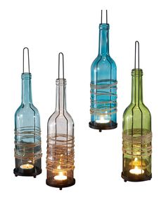 Look at this Glass Wine Votive Holder - Set of Four on #zulily today!
