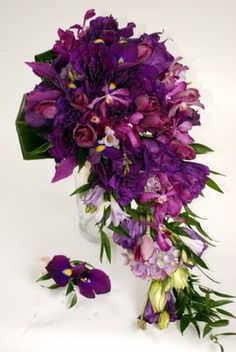 plum wedding bouquets - Google Search