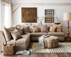 Warm neutral tones, textures, patterns
