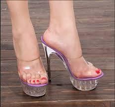 Resultado de imagem para high heels mules