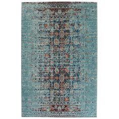 FREE SHIPPING! Shop Wayfair.ca for Mercury Row Artemis Aqua Area Rug - Great Deals on all  products with the best selection to choose from!