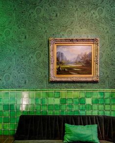 Hotel Casa Awolly is the result of the union between architecture, interior design, cuisine and one of the best mixology bars in Mexico City. Beautiful Wall, Interior Decorating, Interior, Interior Inspiration, Hotel, Color, Wall Bench, Glass Wall, Kelly Behun