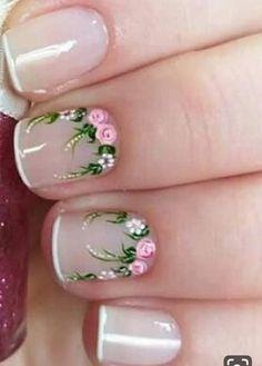 Cute Spring Nails, Christmas Nail Art, Pretty Nails, Nail Art Designs, My Nails, Manicure, Make Up, Nail Ideas, Beauty