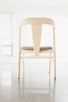 Evan Chair  - such a pretty chair / @roomandboard