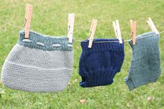 A friend from church is expecting a baby this summer and is planning to use cloth diapers, so I finally have an excuse to knit soakers. Are...