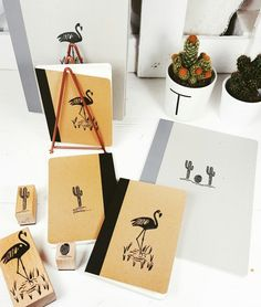 Make some new Notebooks  #stamps #faitmaison