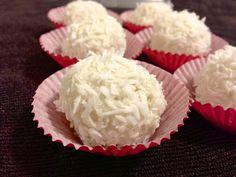 Brazilian Coconut Truffle (Beijinho) - Paleo, refine sugar free, low carb