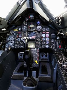 This SR-71 Blackbird cockpit got more flight time than all of the other Blackbird aircraft put together, and every single Blackbird pil...