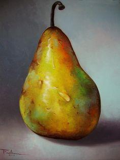 pinturas de peras al oleo - Buscar con Google