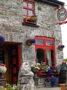 Who wouldn't be inspired to write great things at this charming Irish pub?