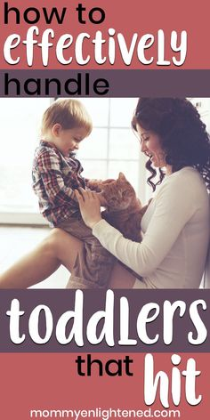 If you have a toddler who hits, it can certainly be difficult to deal with. A toddler who hits can cause problems in daycare, in the home, and general social situations. Sometimes your child may hit when they are angry and amidst a temper tantrum, but som Toddler Behavior, Toddler Discipline, Toddler Preschool, Toddler Activities, Family Activities, Toddler Games, Toddler Learning, Preschool Ideas, Learning Activities