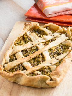 Savoury Vegetable Pie | italicanakitchen.com