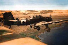 Ju-87 StG2 DAK Luftwaffe