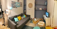 Salon scandinave maison du monde et Ikea