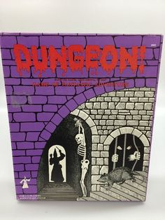 Dungeon Game of Fantastic Adventure 1975 TSR Pre Dungeons and Dragons #TSR