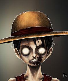Zombie_luffy_web By André de Freitas