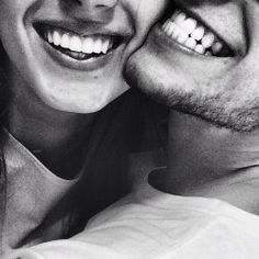 Smile because we are in love