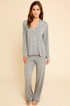 Sleep Chic PJ Set #eberjey #sleepwear
