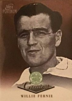 Willie Fernie of Celtic in 1954.