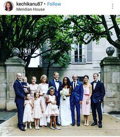Beautiful interracial wedding