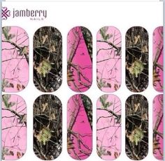 Example of the Jamberry Nail Art Studio! Create your own custom look!   http://www.kaylasdreamyjams.jamberrynails.net