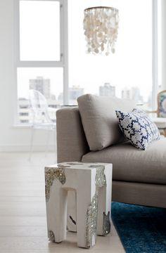 West End Penthouse West End, Interior Design Services, Service Design, Ottoman, Living Room, Chair, Stylish, Furniture, Home Decor