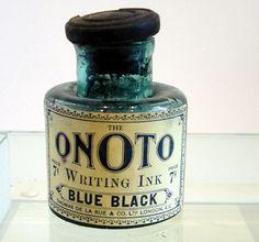 Vintage Onoto ink bottle
