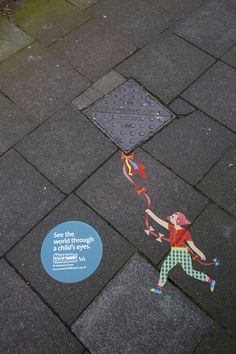 A new campaign from London's Museum of Childhood makes clever use of street furniture and everyday objects