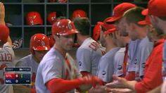 STL@MIL: Cardinals score six runs in the 5th inning... 08-07-15
