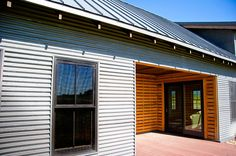 Bonderized siding and roofing