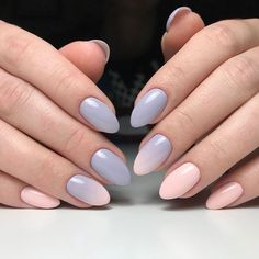 24 Ideas Nails Design Summer Acrylic Classy Simple French Manicures For 2019 May Nails, Love Nails, Pretty Nail Colors, Pretty Nails, Summer Toe Nails, Almond Acrylic Nails, Classy Nails, Simple Nails, Super Nails
