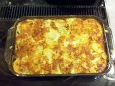 """Cheese Augratin Scalloped Potatoes previous pinned wrote, """"Hands down, the BEST scalloped potatoes I've ever had. Real Food Recipes, Great Recipes, Cooking Recipes, Yummy Food, Favorite Recipes, Best Scalloped Potatoes, Scalloped Potato Recipes, Vegetable Dishes, Vegetable Recipes"""