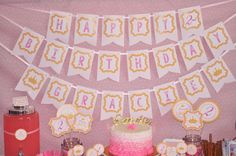 Princess Dress Up Party - Pink and Gold | CatchMyParty.com Pink And Gold Birthday Party, Gold Party, 1st Birthday Girls, Diy Birthday, Birthday Parties, Princess Dress Up, Princess Party, Pink And Gold Dress, Girl Birthday Decorations