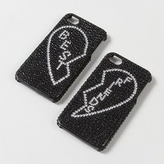 For the girl who loves her BFF: Best Friends Bling iPhone Covers