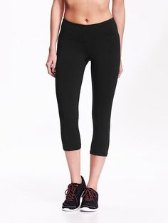 $25 Go-Dry Cool Compression Crops | Old Navy
