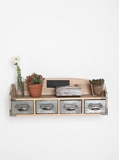 Vintage-like shelf from Urban Outfitters
