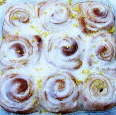 ... In My Tumbly: Sticky Lemon Rolls with Lemon Cream Cheese Glaze More