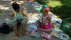 Neighborhood picics puts librarians, books and kids together