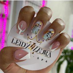Hello Nails, Nail Spa, 3d, Beauty, Polish Nails, Short Nail Manicure, Gold Nail Art, Dark Nails, Beauty Illustration