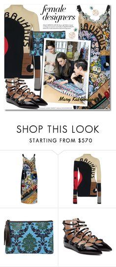 Designer Clothes, Shoes & Bags for Women Mary Katrantzou, Female Fashion, Womens Fashion, Fendi, Fashion Designers, Label, Swarovski, Polyvore, Shopping