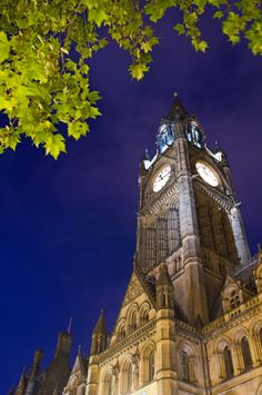 Grade I listed Manchester Town Hall, by Alfred Waterhouse. Manchester Town Hall, Manchester Travel, Manchester England, Best Hotel Deals, Best Hotels, Beautiful Streets, Beautiful World, Air Malta, Midland Hotel