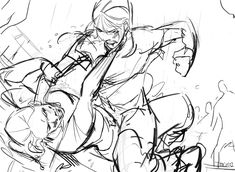 Two sisters fighting? Action Pose Reference, Anime Poses Reference, Figure Drawing Reference, Anatomy Reference, Action Poses, Fighting Drawing, Fighting Poses, Sketch Poses, Anatomy Poses