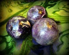 Purple Fluorite Sphere for Crown Chakra Healing by TheSageGoddess, $35.00